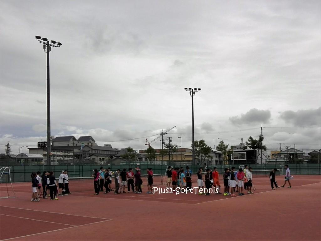 滋賀県ソフトテニス シングルス選手権2016