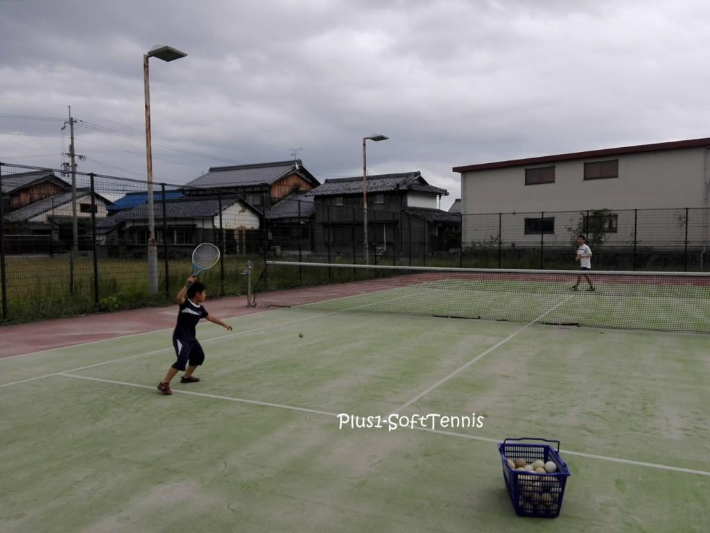 プラスワン・ソフトテニス練習会 初心者 未経験者