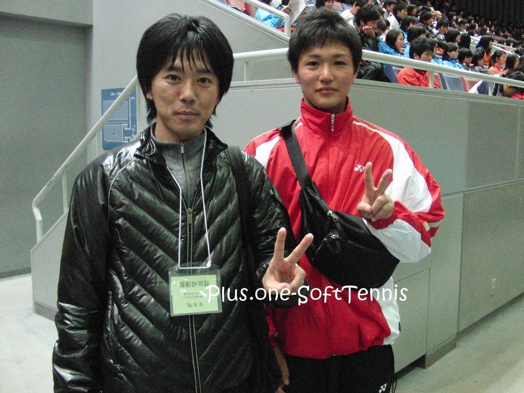全日本ソフトテニスインドア2011[結果・動画]鹿島選手