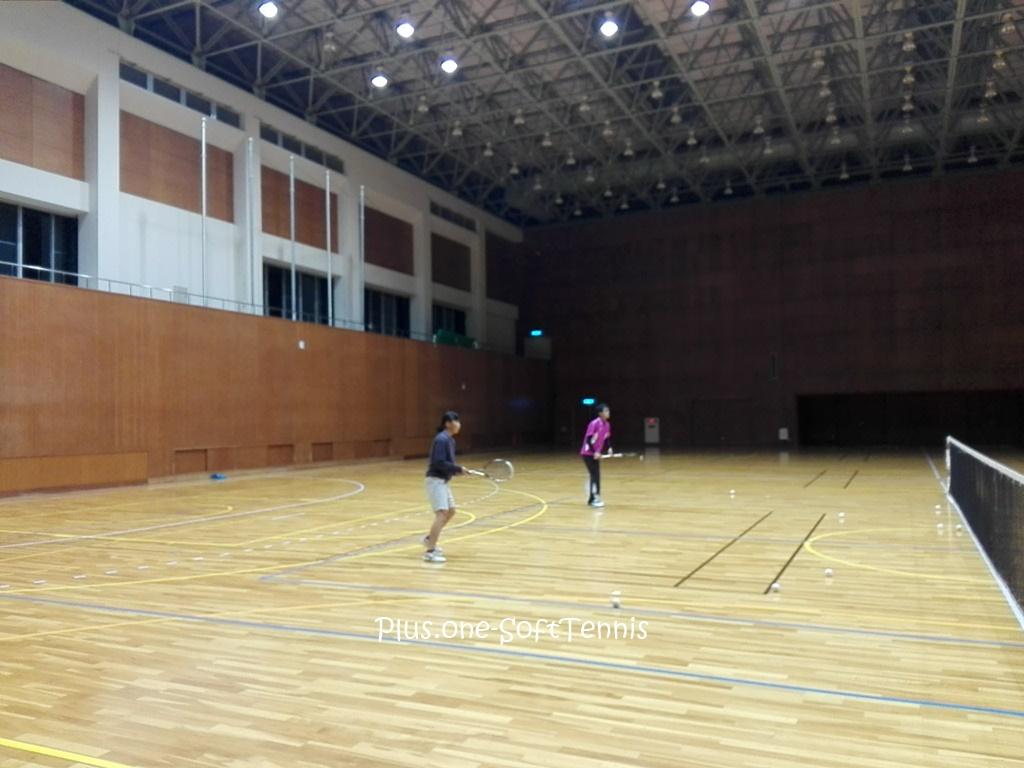 プラスワン・ソフトテニス練習会 2016/11/22(火)