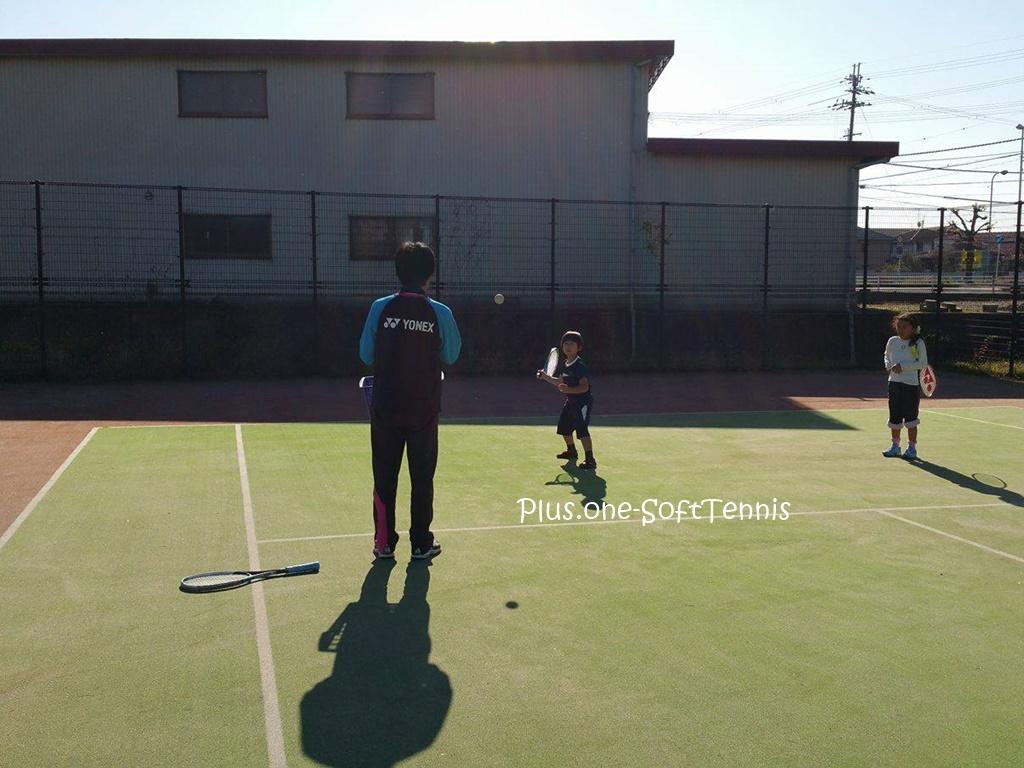 プラスワン・ソフトテニス 未経験~の練習会 2016/12/3(土)