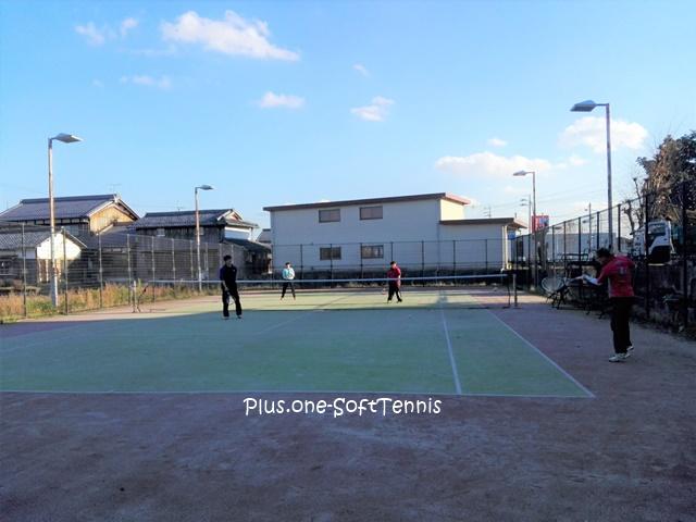 プラスワン・ソフトテニス練習会 2016/12/07(水)