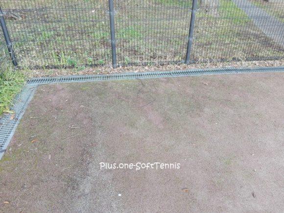 プラスワン・テニスコート 草刈り・枝払い