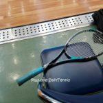 金曜のソフトテニス練習会にお邪魔しました。