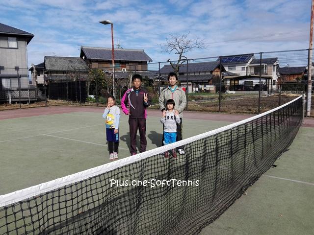 ソフトテニス練習会 未経験~の練習会 2016/12/24(土)
