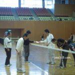 滋賀県ソフトテニス 近江八幡市インドア大会2010