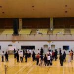 滋賀県東近江市インドアソフトテニス2015
