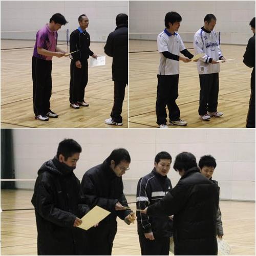 滋賀県東近江市ソフトテニスインドア大会2011