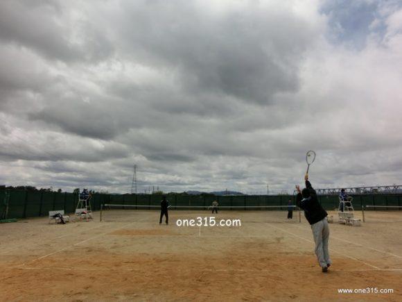 滋賀県野洲市ソフトテニス大会・春の部2013