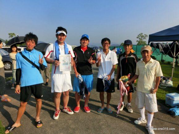 滋賀県野洲市ソフトテニス大会・夏の団体戦2013