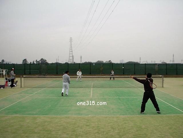 ソフトテニス練習会 2008/11/24