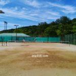 滋賀県近江八幡市 安土文芸の郷テニスコート