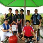 滋賀県野洲市ソフトテニス大会・夏の団体戦2014
