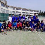 滋賀県近江八幡市八幡西中学校に部活応援行って来ました。2017/03/05(日)