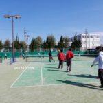 京都府長岡京市・スポーツセンターテニスコート