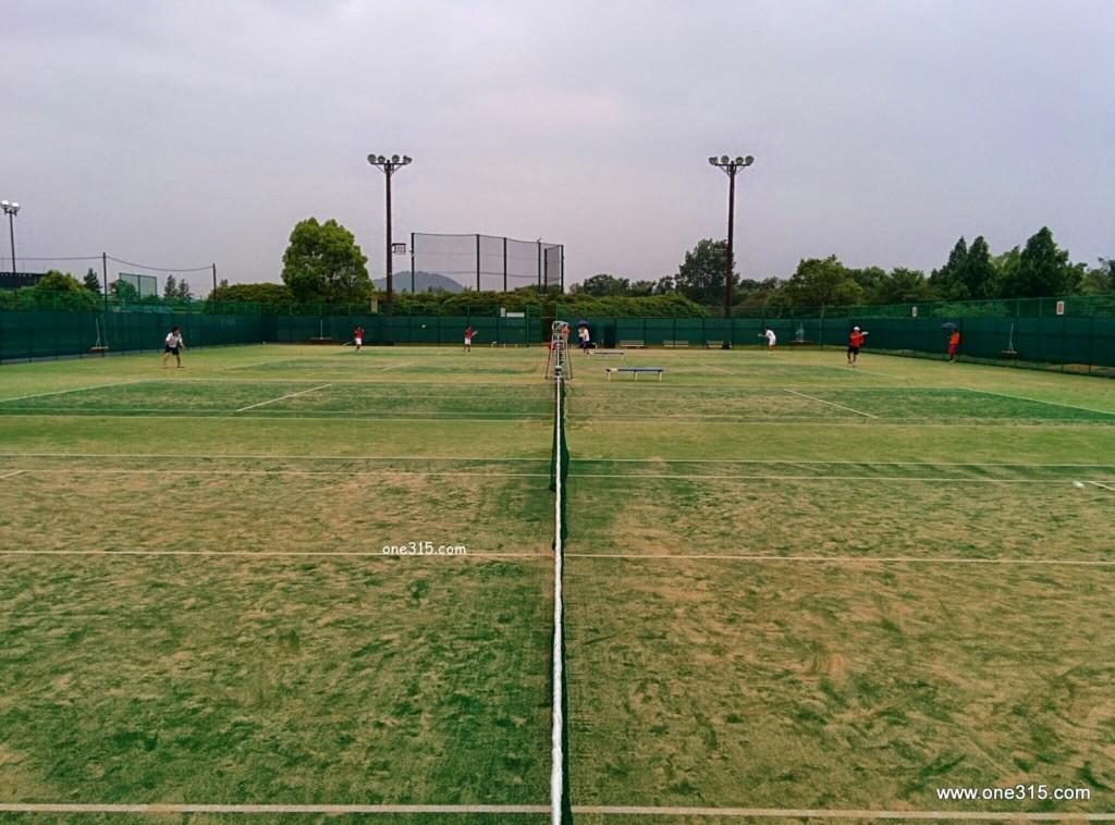 近江八幡市運動公園テニスコート