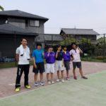 ソフトテニス個別練習会 2017/05/01(月)