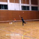2017/06/20(火) ソフトテニス練習会