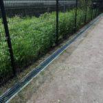 テニスコート整備 2017/07/29 草刈り