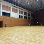2017/08/09(火)ソフトテニス練習会