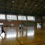 2017/08/17 午前は部活、午後は近江八幡フレッシュテニスクラブへ。