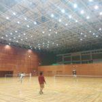 ソフトテニス練習会 2017/08/22(火)夜間 @滋賀県近江八幡市
