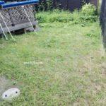 テニスコート整備 2017/08/01 草刈り