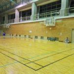 2017/08/30(水)夜間 スポンジボールテニス@滋賀県近江八幡市