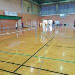 2017/10/05 近江八幡のフレッシュテニスクラブへ