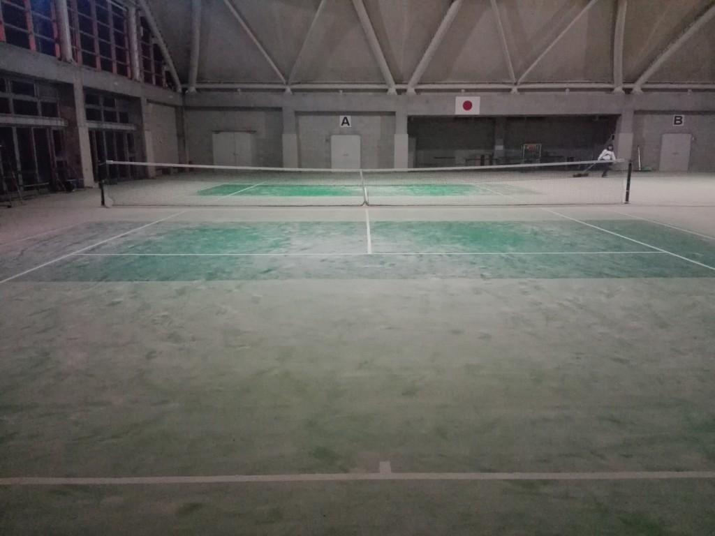 2017/11/26(日)夜間 ソフトテニス練習会【一般向け】に行ってきました。ひばり公園