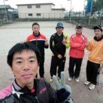 2017/11/24(金) ソフトテニス 平日練習会@滋賀県近江八幡市