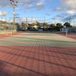 滋賀県守山市 玉津公民館・地域総合センターテニスコート