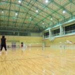 2017/11/08(水) スポンジボールテニス@滋賀県近江八幡市
