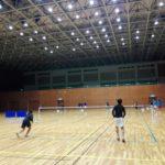 2017/10/31(火) ソフトテニス練習会@滋賀県近江八幡市