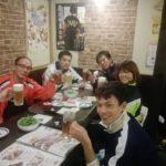 2017/11/14(火) ソフトテニス練習後のお食事会。【扇屋近江八幡店/焼き鳥】