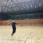 2017/11/28(火) ソフトテニス練習会@滋賀県近江八幡市