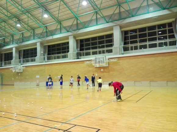 2017/12/4(月) ソフトテニス練習会@滋賀県近江八幡市