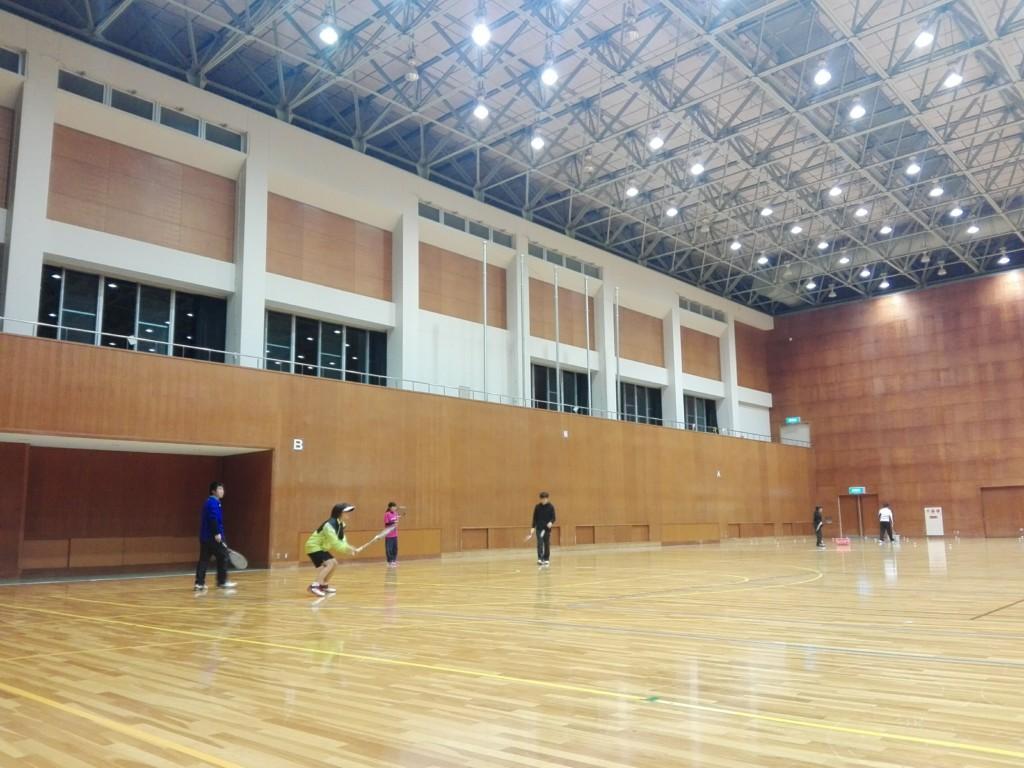2018/01/08(月) ソフトテニス練習会@滋賀県近江八幡市