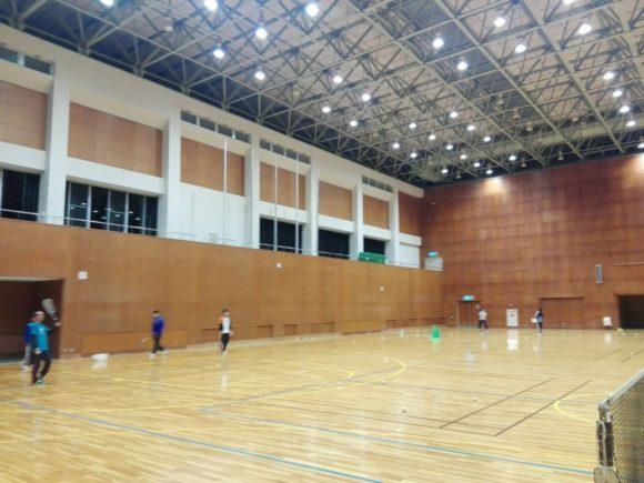 2018/01/23(火) ソフトテニス練習会@滋賀県近江八幡市