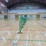 2018/01/27(土)夕方 ソフトテニス・個別練習会 滋賀県東近江市五個荘体育館