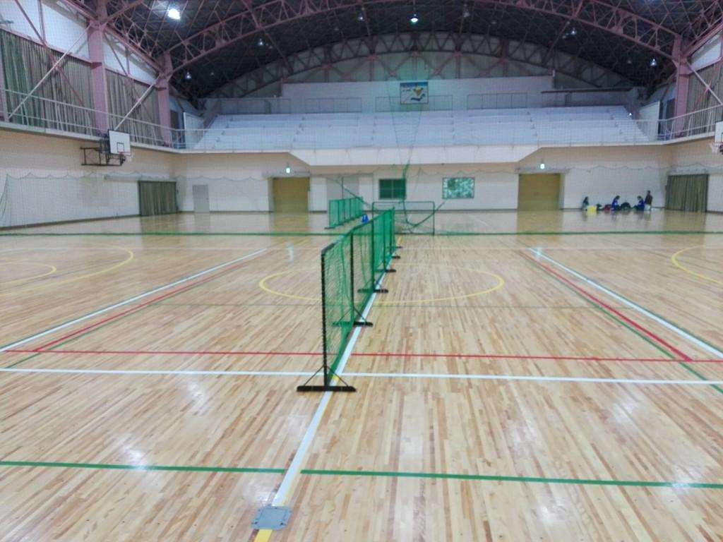 2018/01/27(土)夕方 ソフトテニス・個別練習会