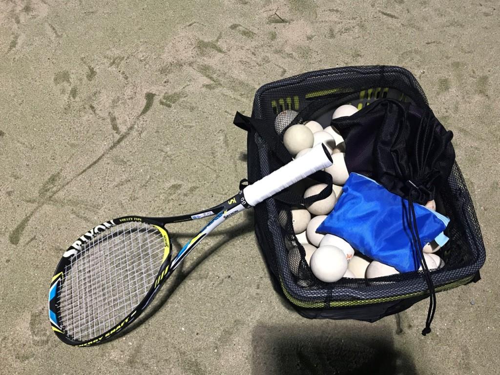 2018/01/012(金) 夜間 ソフトテニス・個別練習会