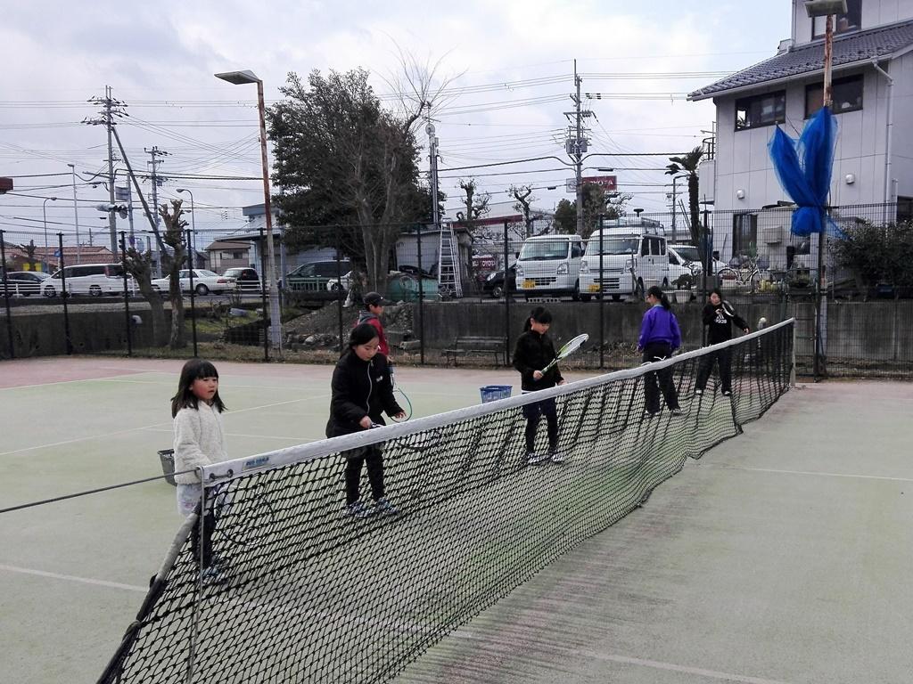 20180217(土)午前 ソフトテニス練習会・未経験者~