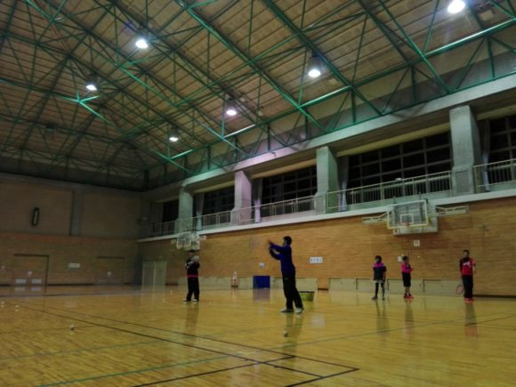 2018/01/29(月) ソフトテニス練習会@滋賀県近江八幡市