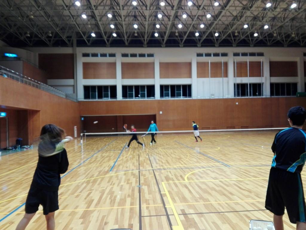 2018/02/17(土)夜間 ソフトテニス・初心者練習会