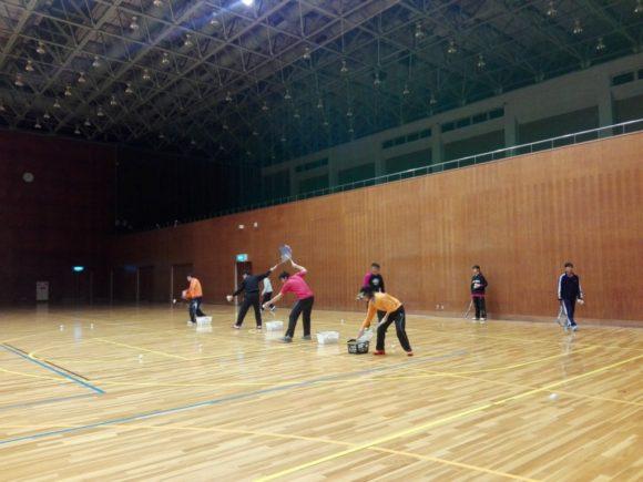 2018/02/20(火) ソフトテニス練習会@滋賀県近江八幡市