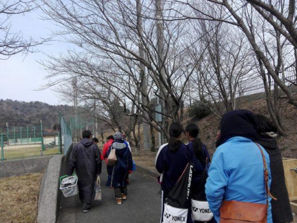 2018/02/26(日) ソフトテニス練習会