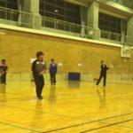 2018/02/19(月) ソフトテニス練習会@滋賀県近江八幡市
