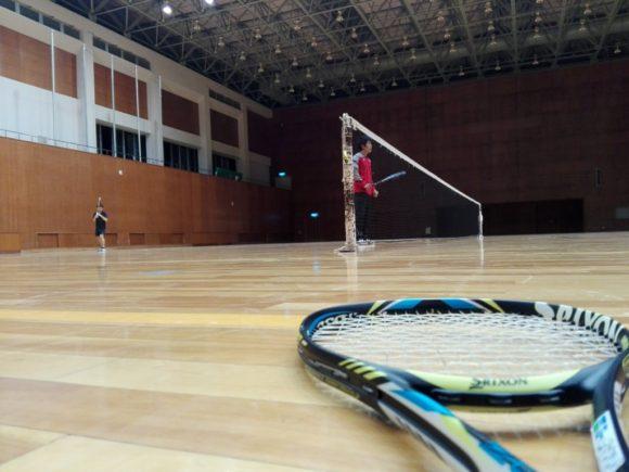 2018/02/26(月) ソフトテニス練習会@滋賀県近江八幡市