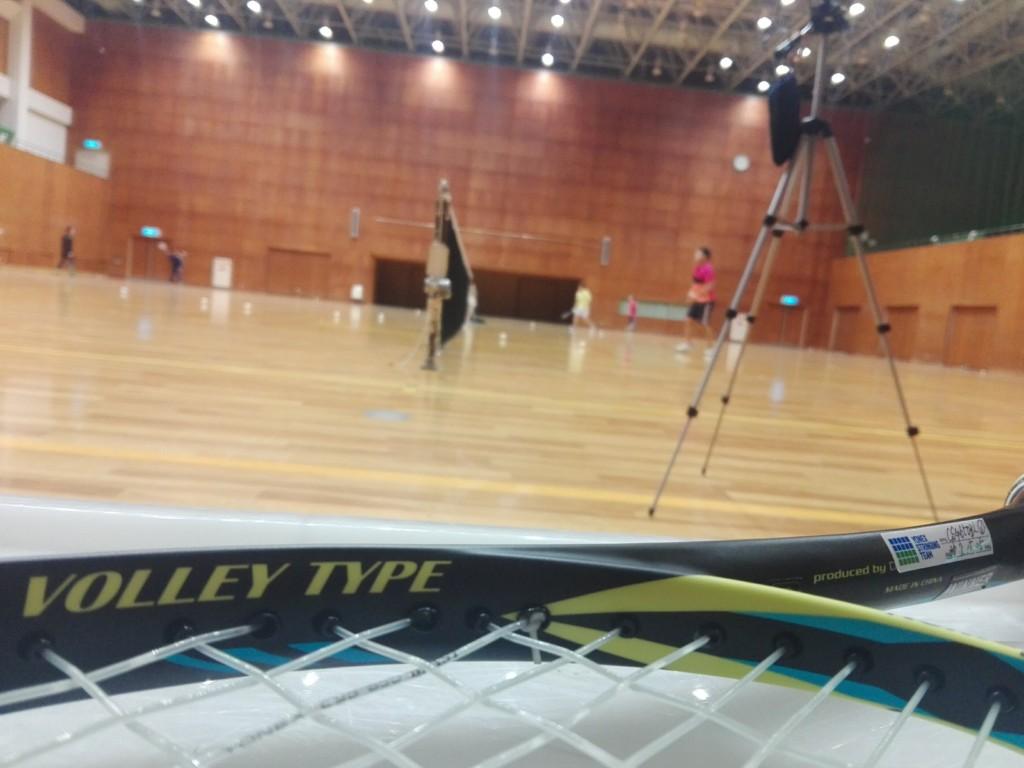 2018/02/27(火) ソフトテニス練習会@滋賀県近江八幡市